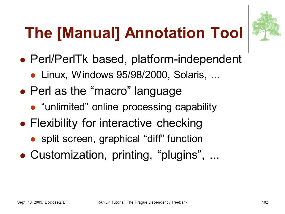 The [Manual] Annotation Tool